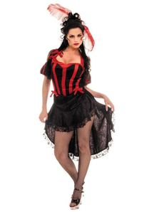 Can Can Seductive Adult Costume