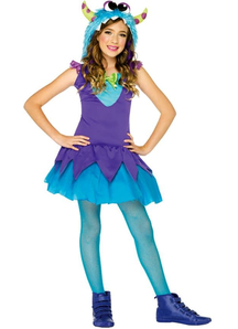 Carlie Furry Monster Child Costume