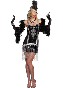 Charleston Lady Adult Costume