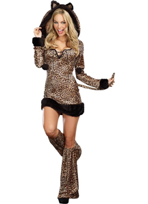 Cheetah Luscious Adult Costume