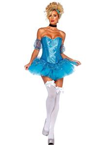 Mini Cinderella Costume Adult