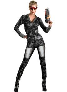 Commando Female Adult Costume