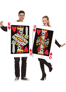Couple Costume King And Queen Of Hearts