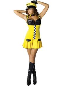 Cute Cabbie Adult Costume