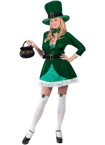 Cute Leprechaun Adult Costume