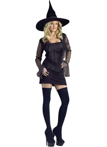 Cute Witch Adult Costume