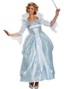 Deluxe Fairy Godmother Disney Adult Costume
