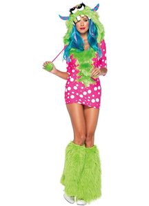 Dot Monster Adult Costume