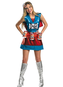 Duffwoman Simpsons Adult Costume