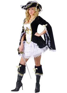 Fabulous Musketeer Adult Costume