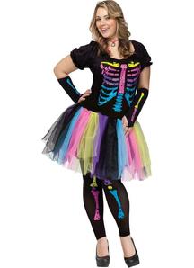 Funny Skeleton Adult Costume