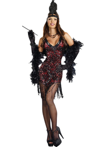 Gorgeous Flapper Adult Costume