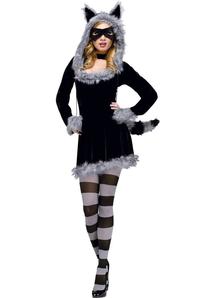 Grey Racoon Adult Costume
