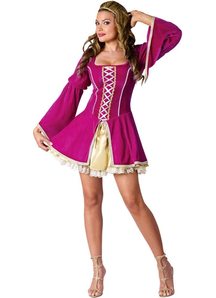 Hot Renaissance Girl Adult Costume