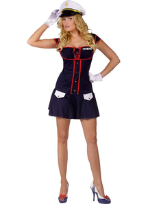 Hot Sea Captain Adult Costume
