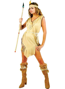 Indian Girl Adult Costume