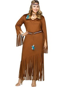 Indian Woman Adult Costume