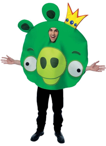 King Pig Angry Birds Adult Costume