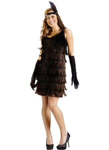 Lady Flapper Adult Costume