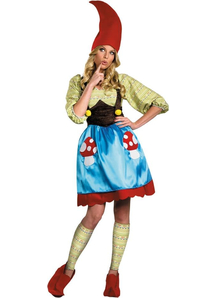 Lady Gnome Adult Costume