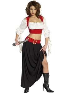 Lady Pirate Renaissance Adult Costume
