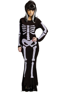 Lady Skeleton Adult Costume