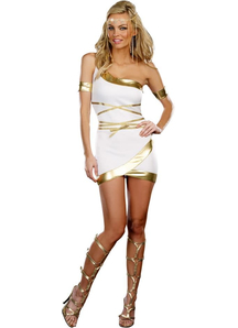 Luxury Greek Goddess Adult Costume