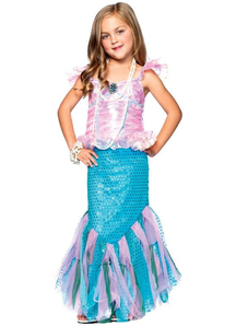Magical Mermaid Child Costume