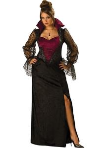 Midnight Vampiress Plus Size Adult Costume