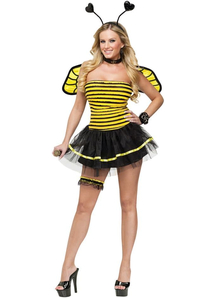 Miss Bee Adult Costume