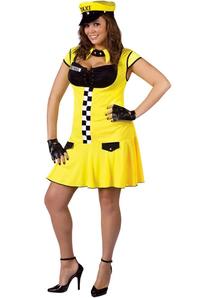 Miss Cabbie Adult Costume