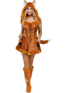 Miss Fox Adult Costume