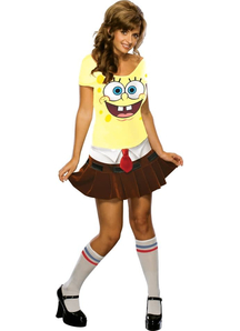 Miss Spongebob Adult Costume