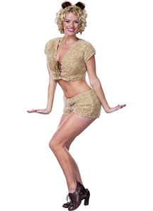 Miss Teddy Adult Costume