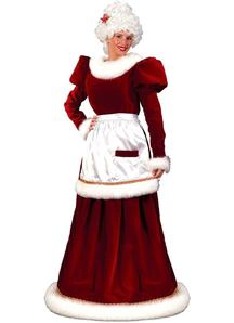 Mrs Santa Claus Adult Costume
