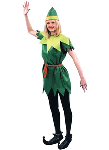 Peter Pan Girl Adult Costume