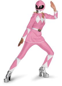 Pink Power Ranger Adult Costume