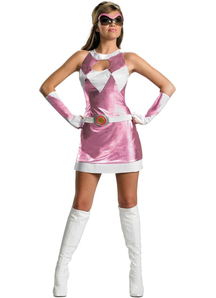 Pink Ranger Costume Adult