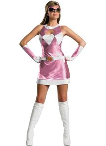 Pink Ranger Costume Adult
