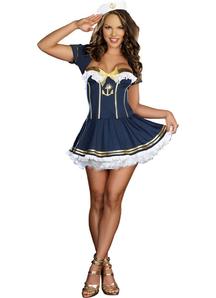 Pinup Sailor Adult Costume