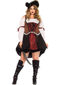 Pirate Diva Plus Size Costume
