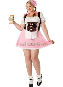 Pretty Fraulein Adult Plus Size Costume