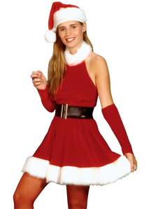 Pretty Santa Adult Costume