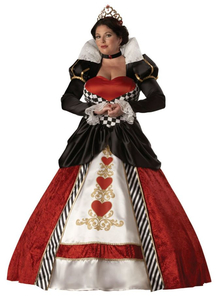 Queen Of Hearts Adult  Plus Size Costume