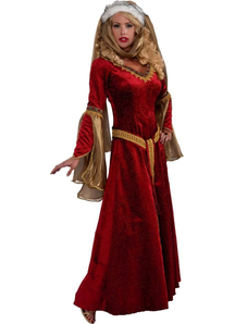 Queen Of Renaissance Adult Costume