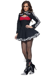 Racing Girl Adult Costume