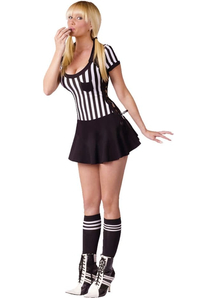 Racy Referee Female Costume Adult