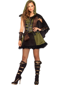 Robin Hood Female Adult Costume