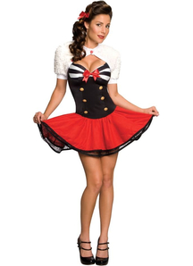 Sailor Pin Up Adult Costume