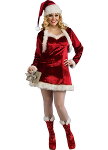 Santa Woman Adult Costume